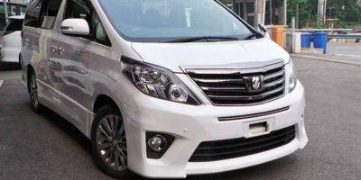 Toyota Alphard Hire Kisumu