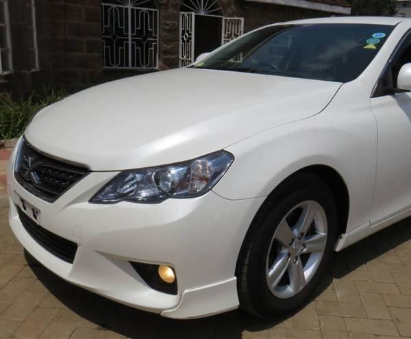 Toyota Mark X Hire Kisumu